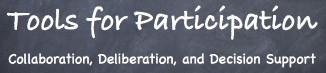 Online Deliberation Conference Logo